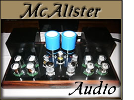 McAlister high end Audio