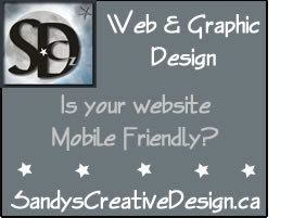Sandys Creative Design - web and graphic design