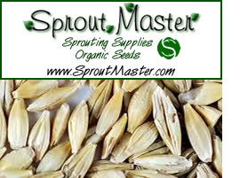 SproutMaster - Seeds, grains, certified organic