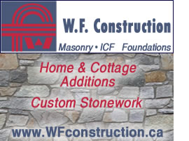 WF Construction -Additions, Custom Stonework, ICF foundations